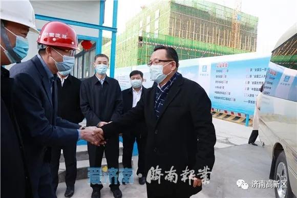 市委副书记、市长孙述涛孙述涛到山东产研院高科技创新园项目走访慰问